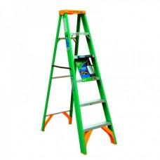 Green Fiberglass Stepladder KW01-2176