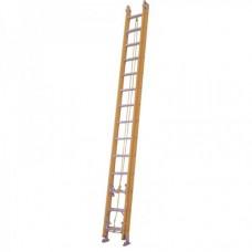 Yellow Fiberglass Extension Ladder KW01-3426