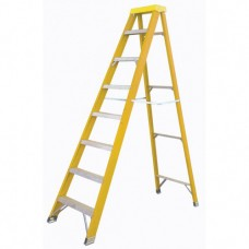 Yellow Fiberglass Step Ladder KW01-3423