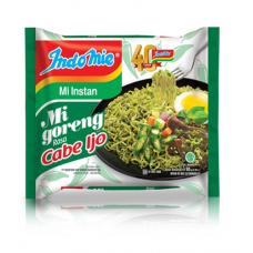 Indomie Goreng Cabe Ijo Per pack (5 Bungkus )