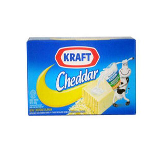 Keju Kraft Cheddar 180 Gr