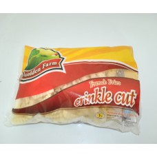 Golden Farm French Fries Crinkle Cut 1Kg