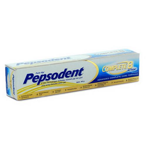 Pasta Gigi Pepsodent Complete 8 65 Ml