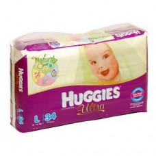 Popok Huggies Ultra L 34's