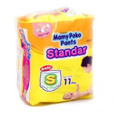 Mamy Poko Diapers Pants Standar S 11's