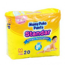 Mamy Poko Diapers Pants Standar M 20's