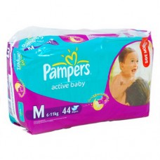 Pampers Diapers Active Baby M 44's