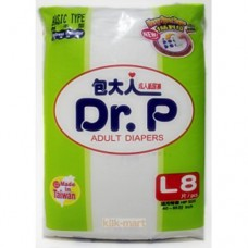 Dr. P Adult Diapers L8