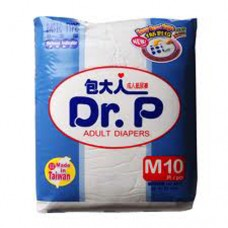 Dr. P Adult Diapers M10