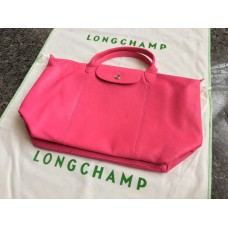 Longchamp Soft Leather With Long Strap