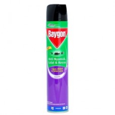 Baygon Masquito Repellant Aerosol Lavender 750 ml
